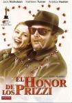 Póster de la película El honor de la familia Prizzi (Prizzi's Honor, 1985), dirigida por John Huston.