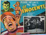 Lobby card de la película El inocente (1955).