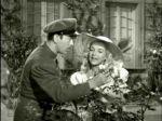 Pedro Infante y Blanca de Castejón, en una escena de la película Escuela de vagabundos (1954).