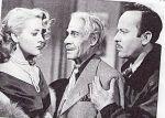 Silvia Pinal, Andrés Soler y Pedro Infante, en una escena de la película Un rincón cerca del cielo (1952).